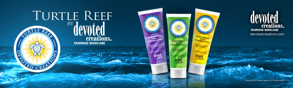 Turtle Reef Sunscreen by Devoted Creations